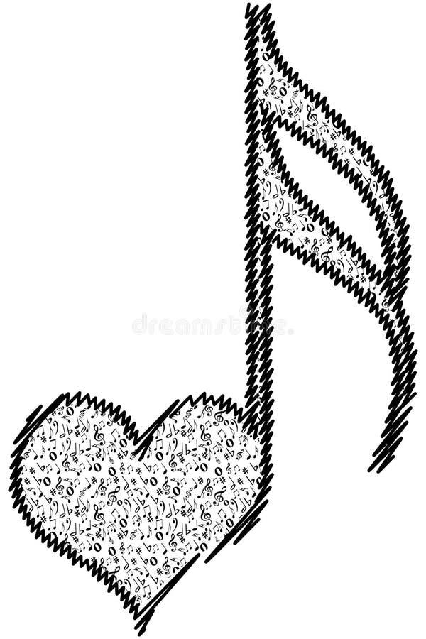Musical Love Key Stock Photos