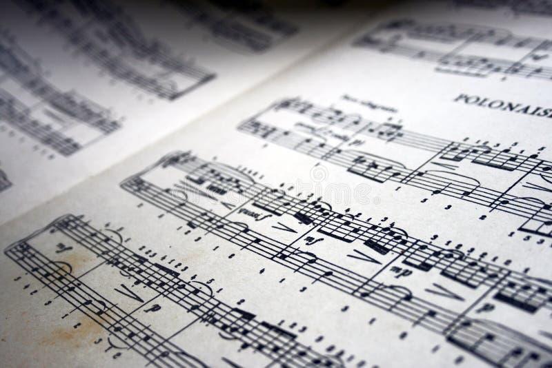 Musical nota a composi??o da arte fotos de stock royalty free