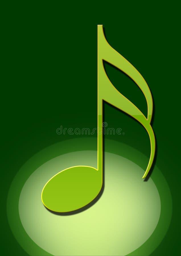 Musical notatka royalty ilustracja