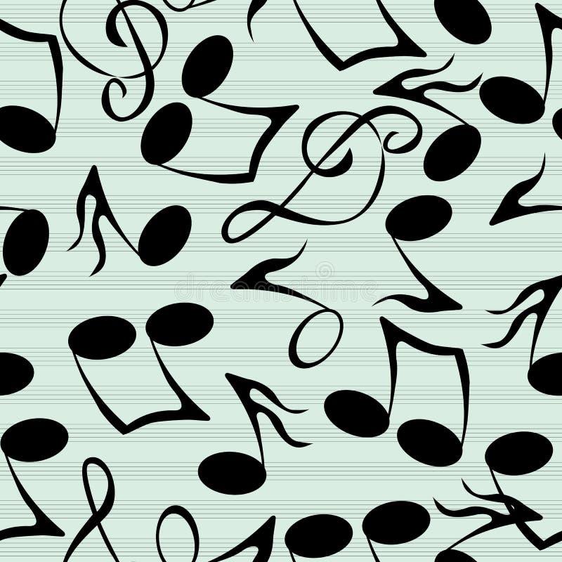 Download Musical notes pattern stock vector. Illustration of design - 28455906