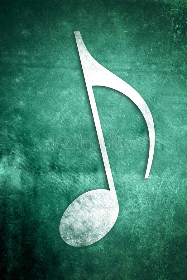 Musical Notes: Series 2 Of 3 Stock Image
