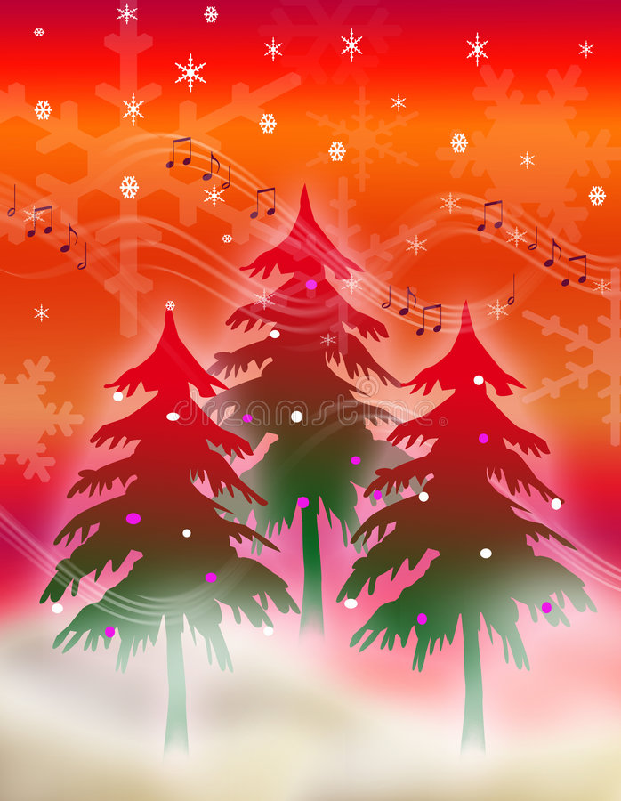Download Musical Season of cheer stock illustration. Illustration of foliage - 1479354