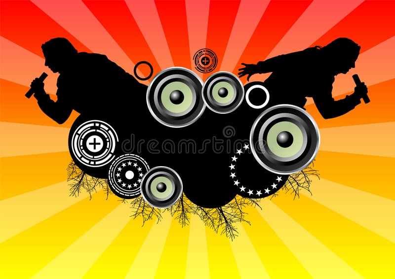 Download Musical_themes_01 stock vector. Illustration of entertainment - 2183430