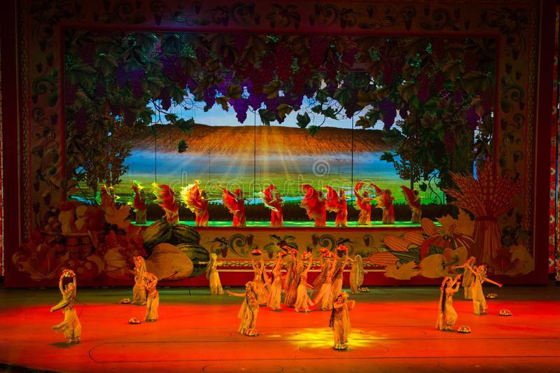 Musical, Uygur,,Back To The Silk Road royalty free stock image