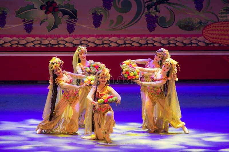 Musical, Uygur, de volta à Rota da Seda fotografia de stock royalty free