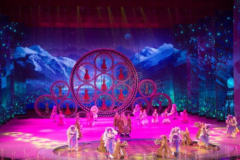 Musical, Uygur, de volta à Rota da Seda imagens de stock royalty free