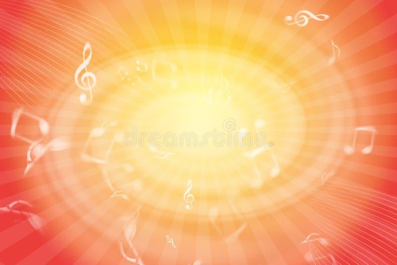 Download Musical Vortex stock illustration. Illustration of notes - 25337638