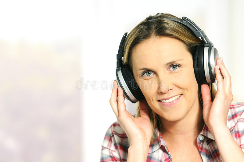 Musical Woman Stock Photography