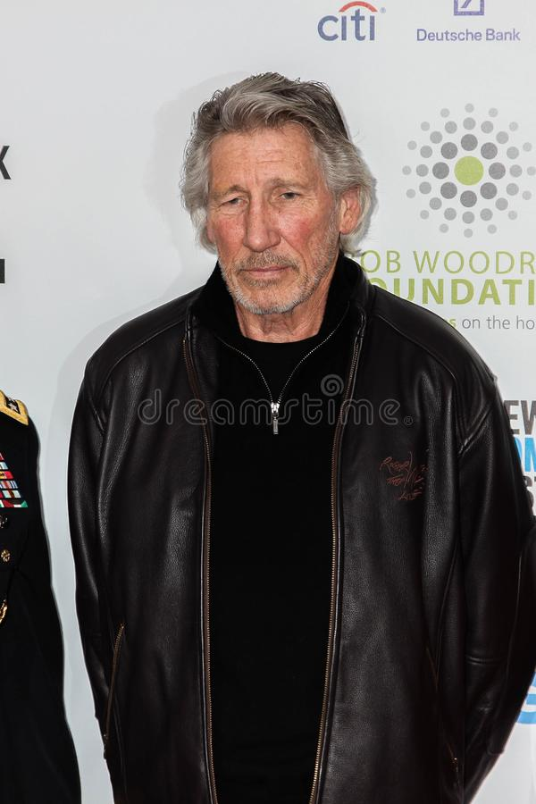 Musican Roger Waters immagine stock