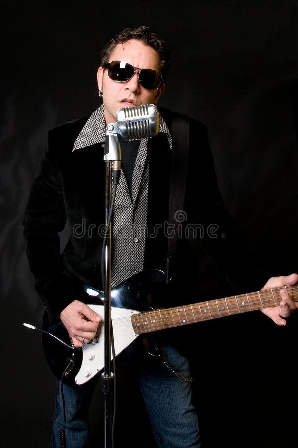 Download Musician stock image. Image of lead, male, guitar, roll - 5234635