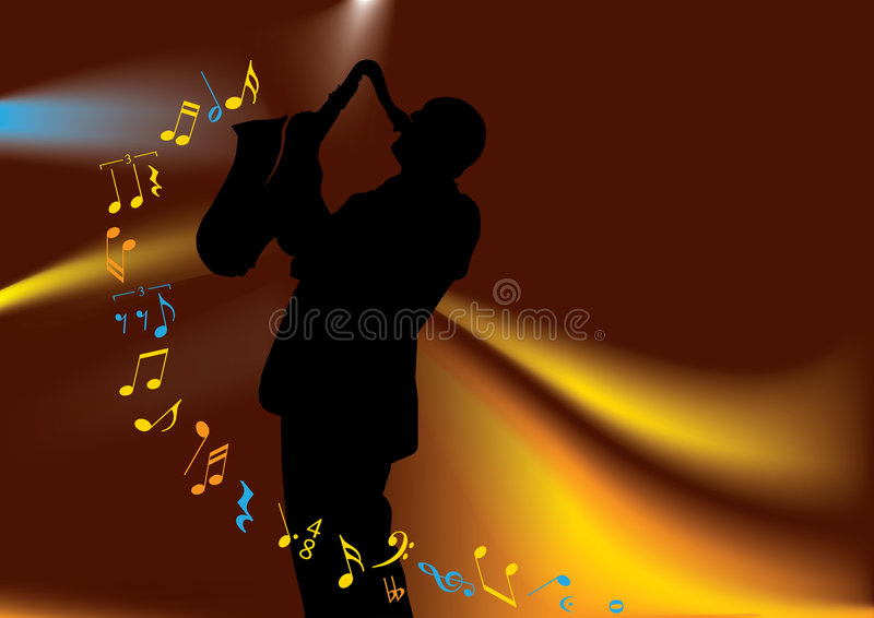Musician stock illustration