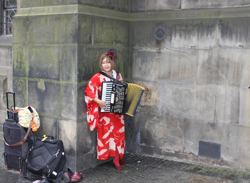Download Musician At Edinburgh Fringe Festival Editorial Stock Photo - Image: 15521478