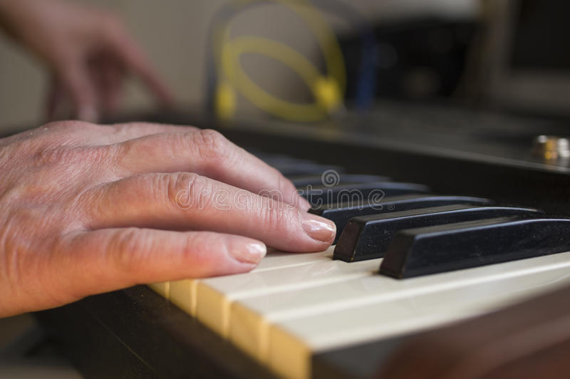 Musician Hand stock images