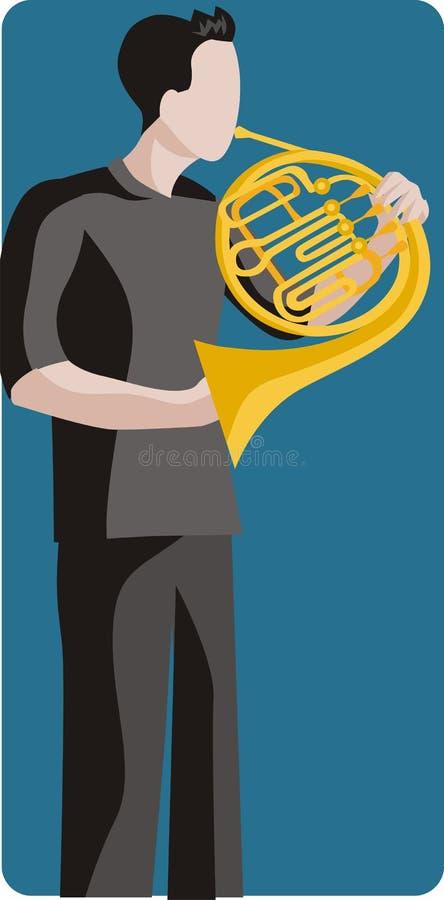 Free Musician Illustration Series Stock Image - 2619381