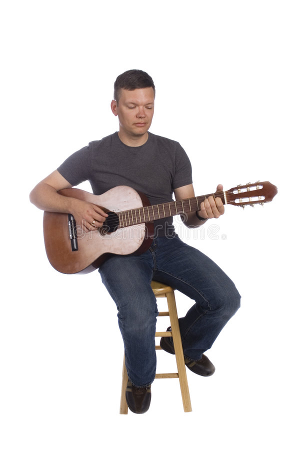 Download Musician playing stock image. Image of acoustic, hands - 6954335