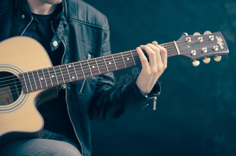 Musician Playing Guitar Free Public Domain Cc0 Image