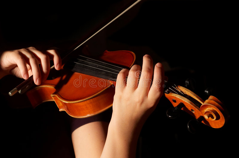 Download Musician playing violin stock photo. Image of chord, italian - 3838638