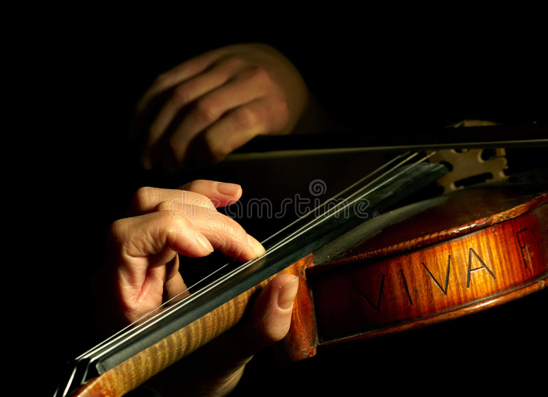 Download Musician Playing Violin Royalty Free Stock Image - Image: 8381636
