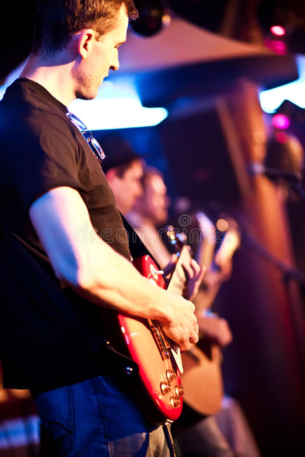 Download Musician Plays A Guitar Stock Photo - Image: 18763090