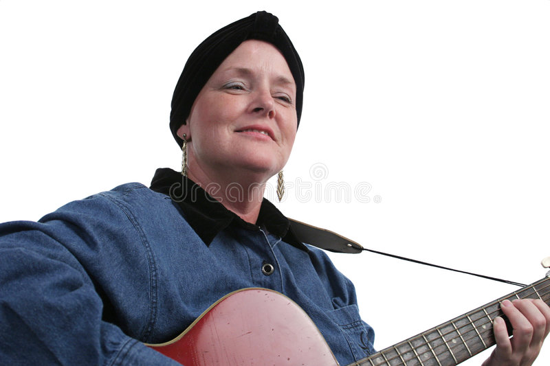 Musician Survivor stock photos
