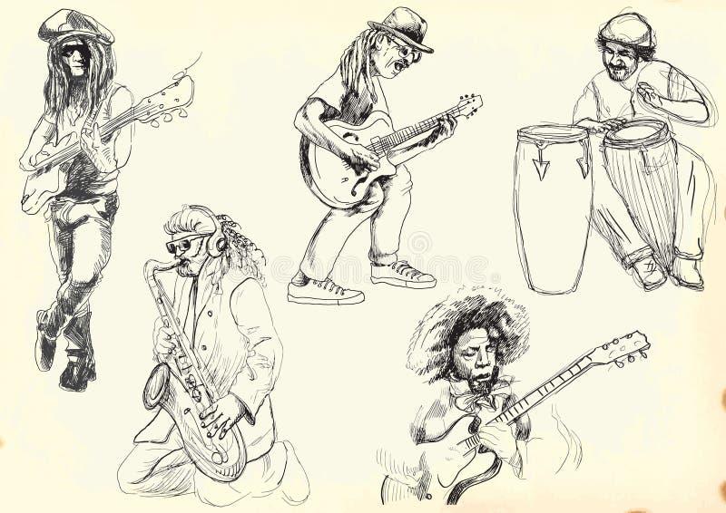Musicians vector illustration