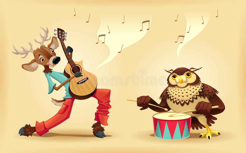 Download Musicians animals. stock vector. Illustration of color - 29014694