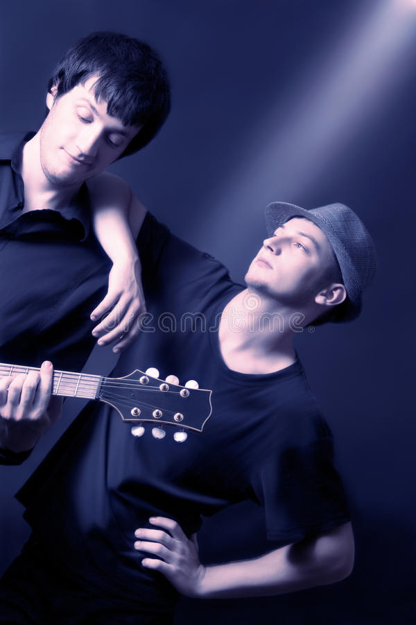 Download Musicians Artistic Duet On The Concert Stock Photo - Image: 18732962