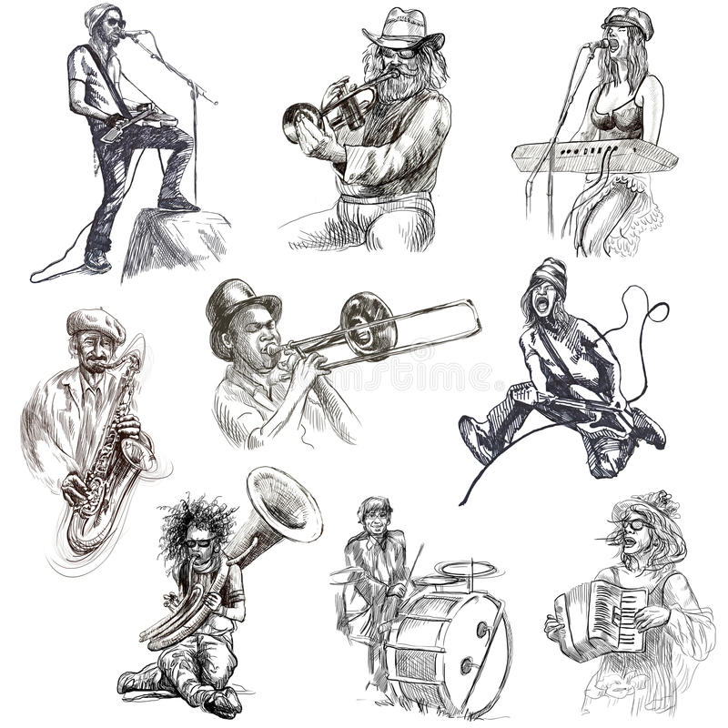 Download Musicians Royalty Free Stock Photography - Image: 32148627