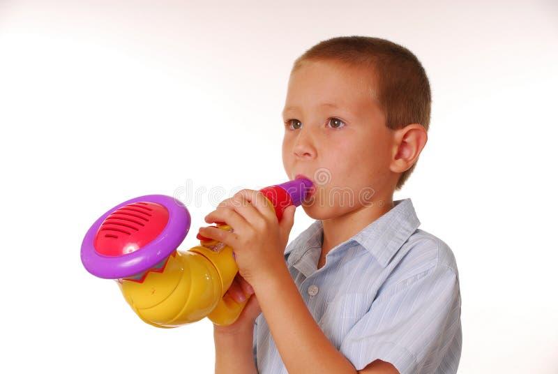 Musicien 3 de garçon photographie stock libre de droits