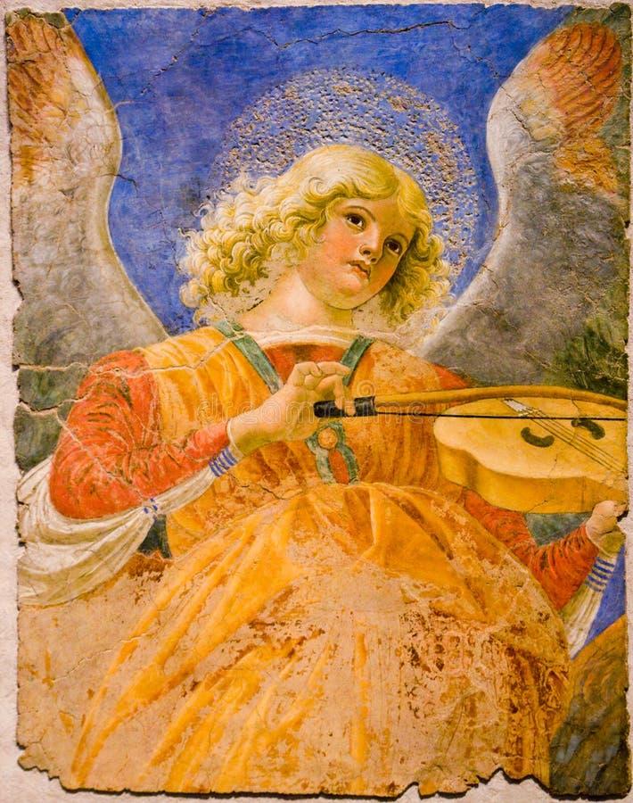 musicien d'ange image stock