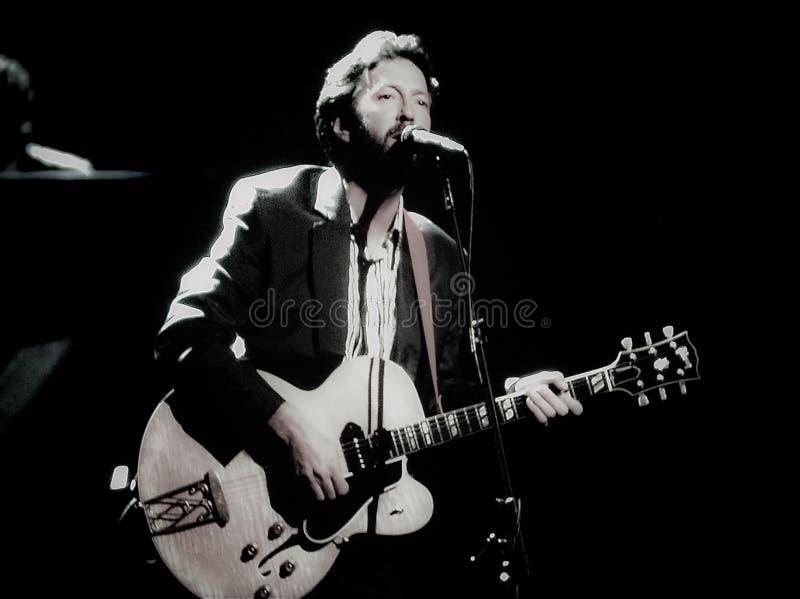 Musicien d'Eric Clapton photo stock