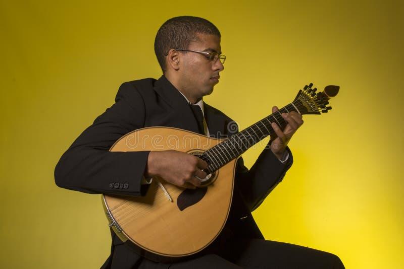 Download Musicien de Fado image stock. Image du interprète, divertissement - 87700445
