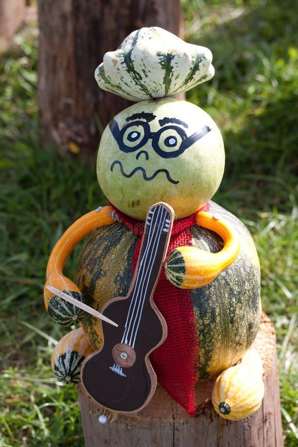 Musicien de Halloween photos stock