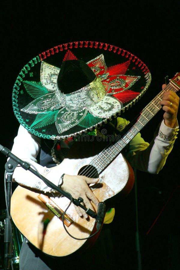 Musicien mexicain images libres de droits