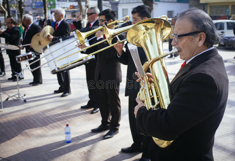 musiciens photo stock