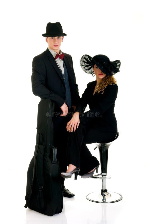 Musiciens, couples photos stock