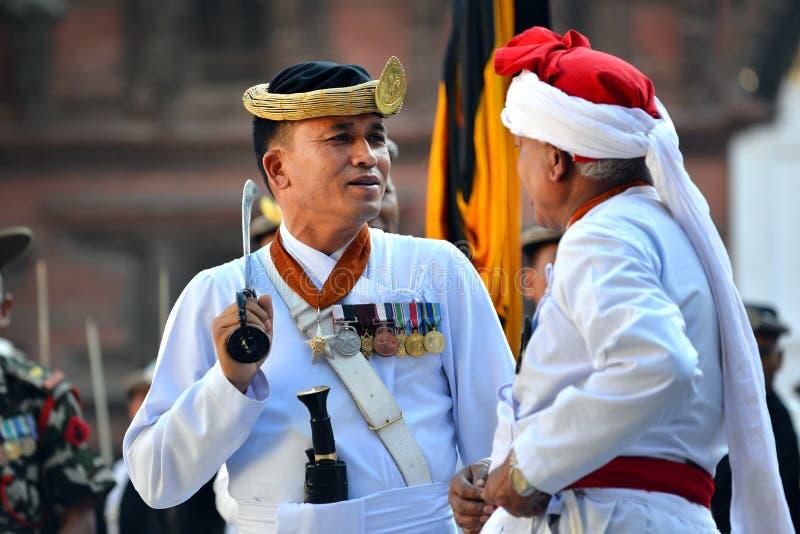 Musiciens de Nepali photographie stock libre de droits