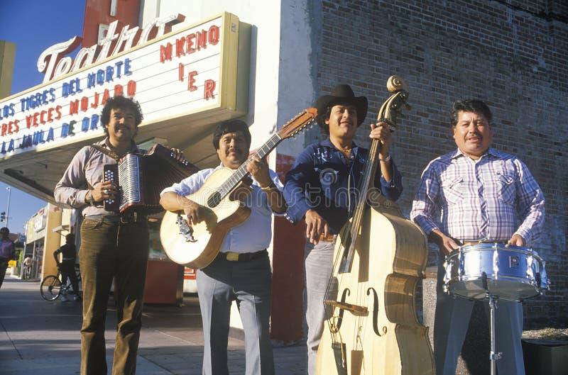 Musiciens mexicains de rue photographie stock