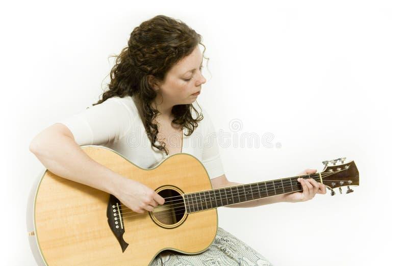 Musicista fotografia stock