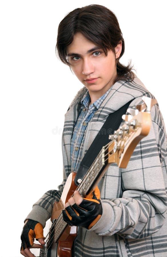 Musicista della roccia immagine stock