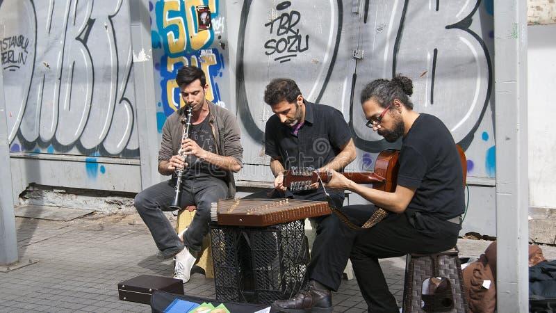 Musicisti della via immagini stock