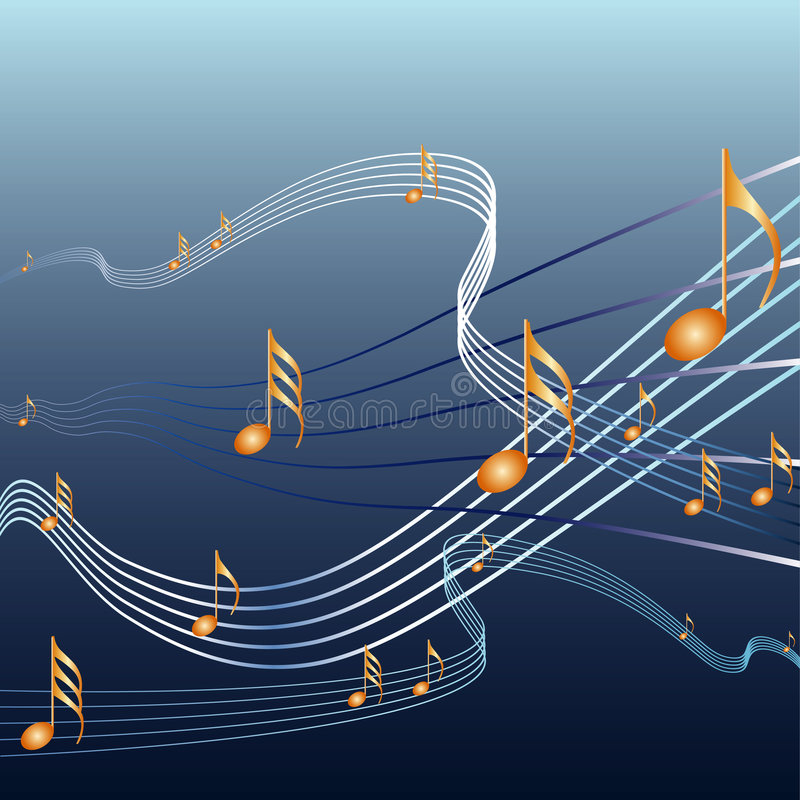 Download Musicnotes stock vector. Image of design, festival, decorative - 5058428