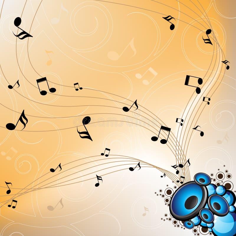 MusicSeamless vektor abbildung