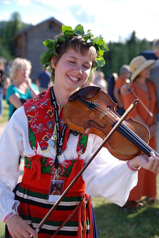 musik瑞典 库存照片