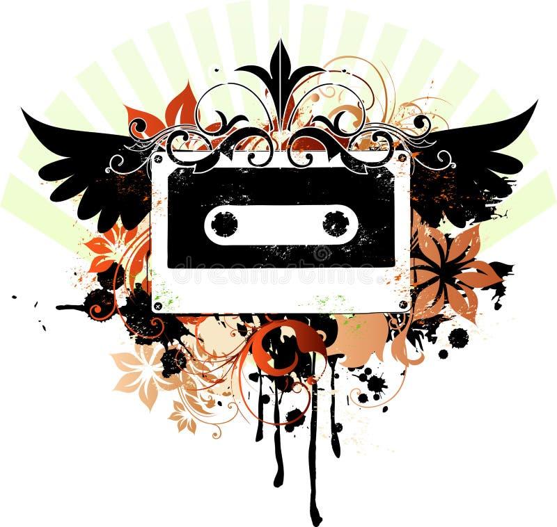 musik stock illustrationer