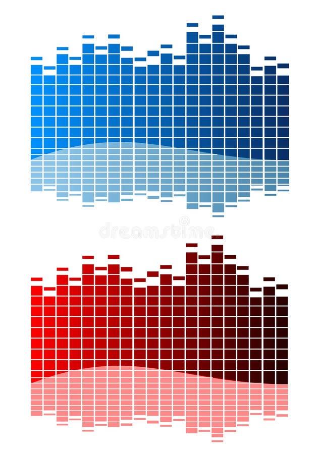 musik vektor illustrationer