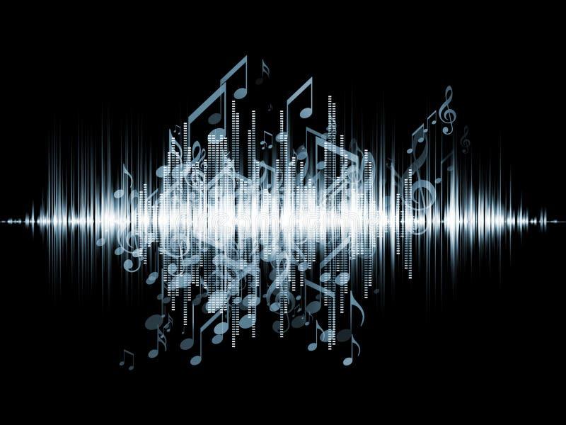 Musik-Analysator stock abbildung