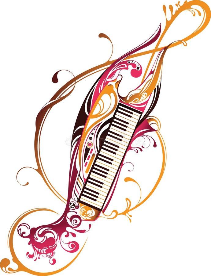 Musik-Anmerkung vektor abbildung