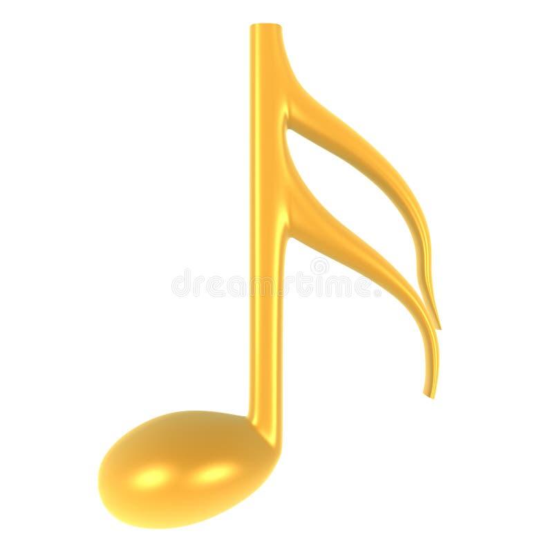 Musik-Anmerkung Lizenzfreie Stockbilder