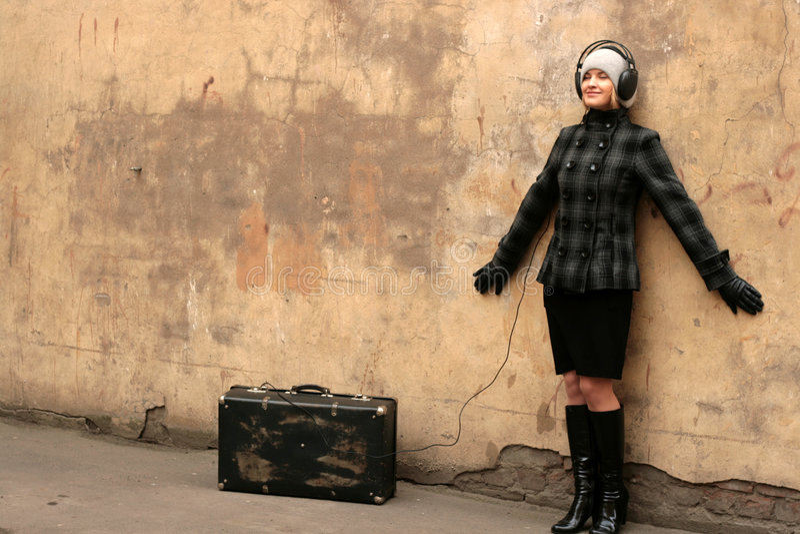 Musik der Reise lizenzfreies stockbild
